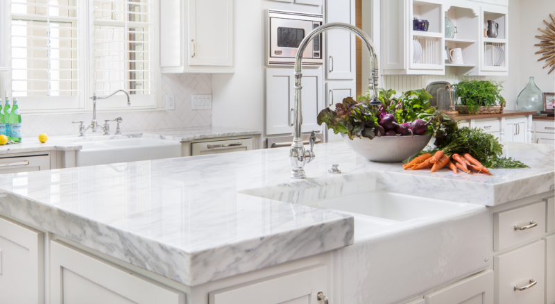Marble Madness: White Carrara Marble and More